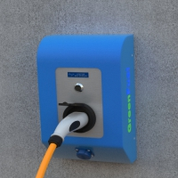WALL-MOUNTED CHARGING STATION GREENFUEL W32A